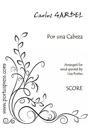 POR UNA CABEZA (score & parts)
