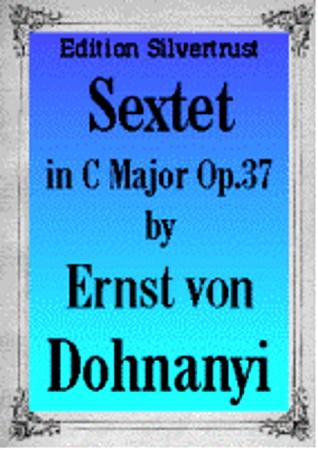 SEXTET in C major, Op.37