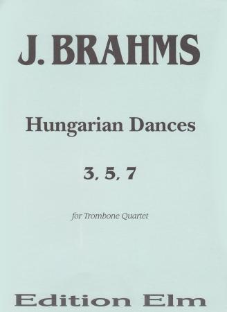HUNGARIAN DANCES No.3, 5 & 7 (score & parts)