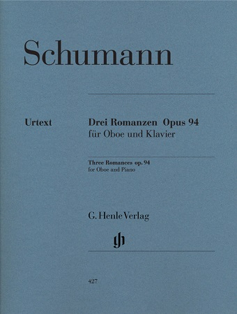 THREE ROMANCES Op.94 (Urtext)