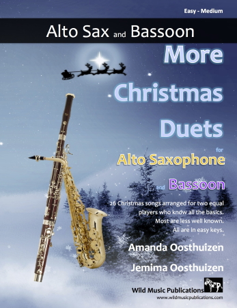MORE CHRISTMAS DUETS for Alto Saxophone & Bassoon