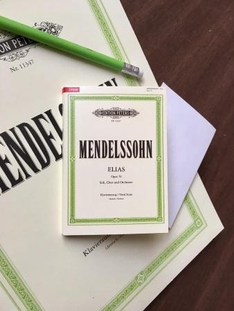 STICKY NOTES Mendelssohn - Elijah