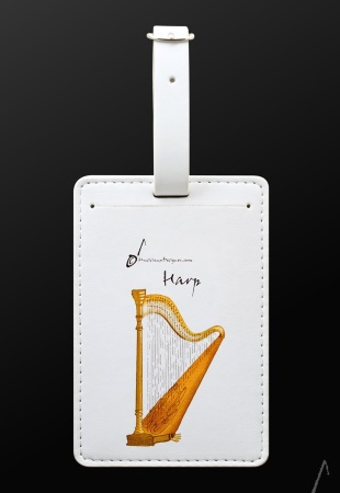 LUGGAGE TAG Harp