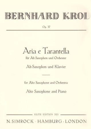 ARIA AND TARANTELLE Op.37