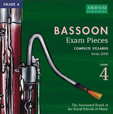 BASSOON Grade 4 CD 2006+
