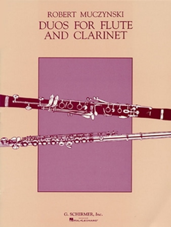 DUOS FOR FLUTE AND CLARINET Op.24