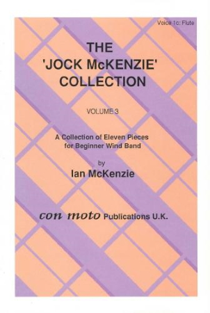 THE JOCK MCKENZIE COLLECTION Volume 3 WIND BAND Part 1c flute