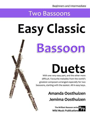 EASY CLASSIC BASSOON DUETS