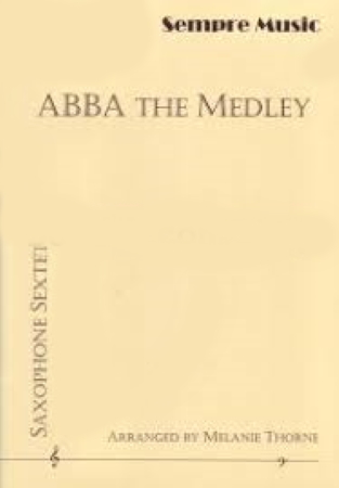 ABBA THE MEDLEY (score & parts)