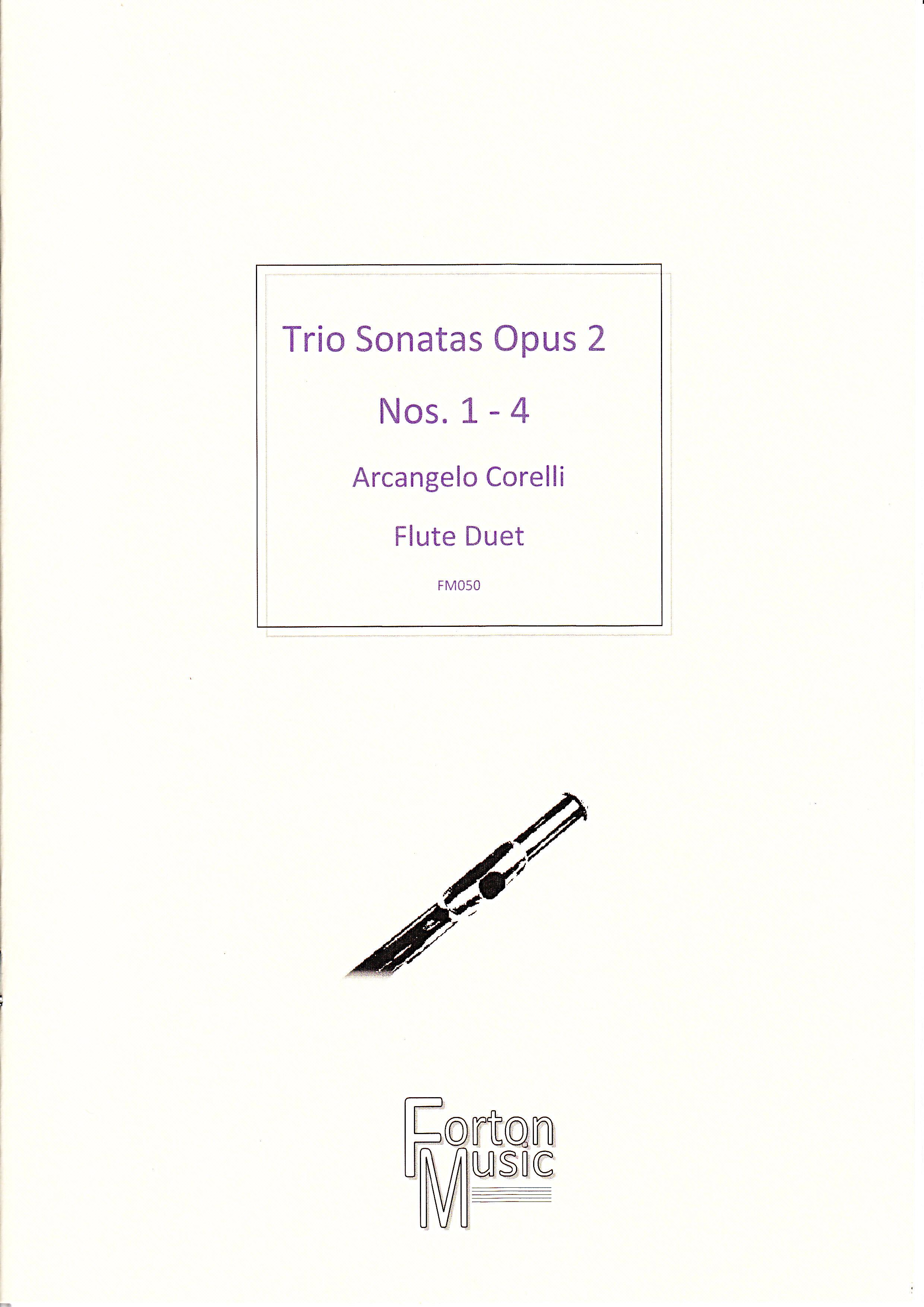 TRIO SONATAS Op.2 Nos.1-4