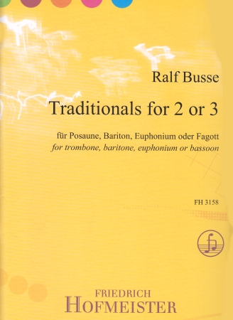TRADITIONALS FOR 2 OR 3 (bass clef)