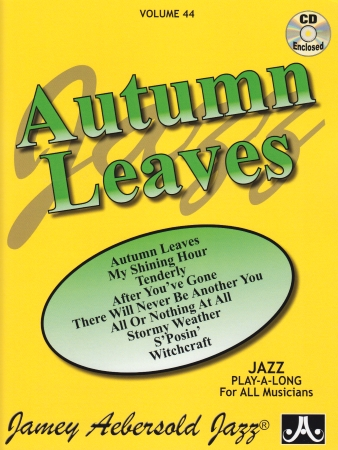 AUTUMN LEAVES Volume 44 + CD
