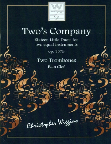 TWO'S COMPANY Op.157b (Bass Clef)