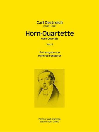 HORN-QUARTETTE Volume 2 (score & parts)
