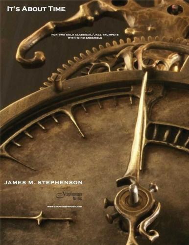 IT'S ABOUT TIME (score & parts)