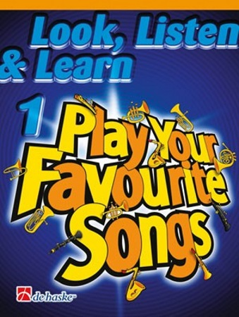 LOOK, LISTEN & LEARN Play Your Favourite Songs (bass clef)