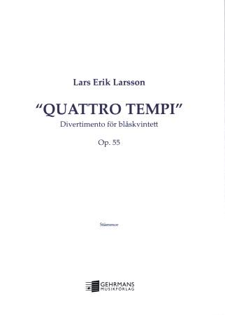 QUATTRO TEMPI Divertimento Op.55 (set of parts)