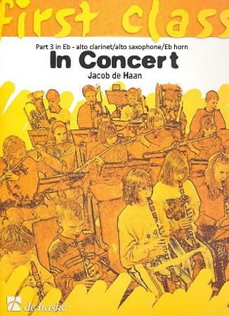 FIRST CLASS IN CONCERT Part 3 Eb: Alto Clarinet/Alto Sax/Eb Horn