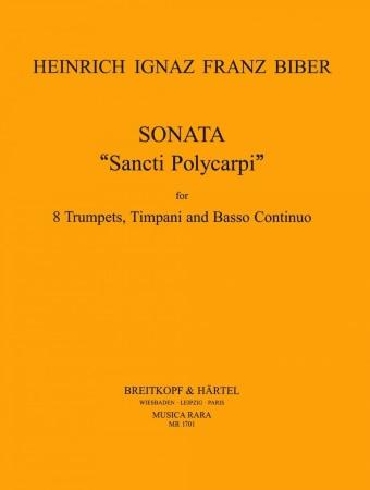 SONATA 'Sancti Polycarpi' (score & parts)