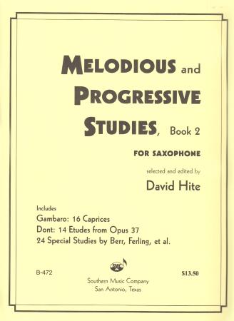 MELODIOUS AND PROGRESSIVE STUDIES Volume 2