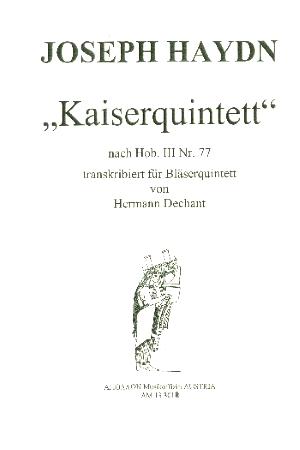 KAISERQUARTET score & parts