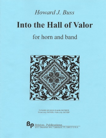 INTO THE HALL OF VALOR (score & parts)