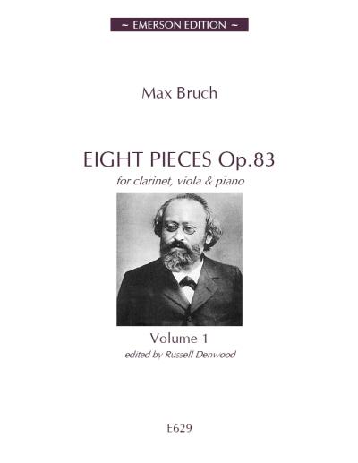 EIGHT PIECES Op.83 Volume 1