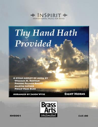 THY HAND HATH PROVIDED (score & parts)