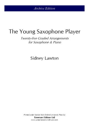THE YOUNG SAXOPHONE PLAYER