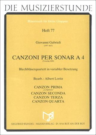 CANZONI PER SONAR A 4