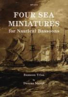 FOUR SEA MINIATURES (score & parts)