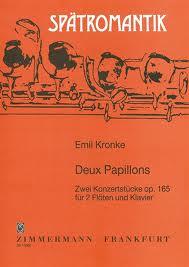 DEUX PAPILLONS Op.165