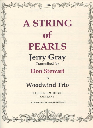 A STRING OF PEARLS score & parts
