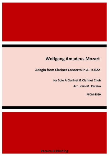 ADAGIO from Clarinet Concerto (score & parts)