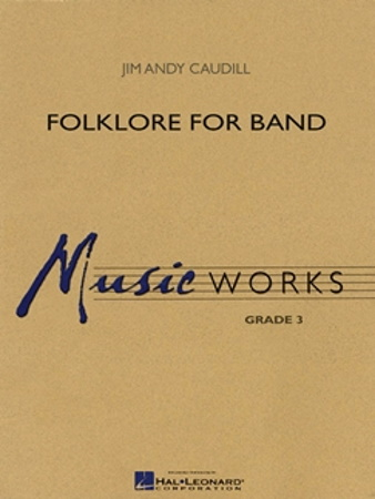 FOLKLORE FOR BAND (score & parts)