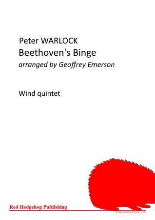 BEETHOVEN'S BINGE (score & parts)