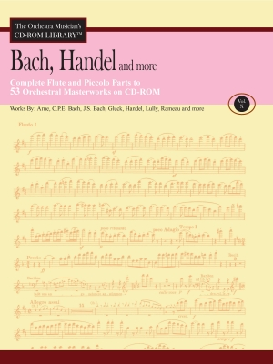 THE ORCHESTRA MUSICIAN'S CD-ROM LIBRARY Volume 10: Bach, Handel etc