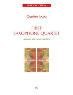 FIRST SAXOPHONE QUARTET (score & parts)