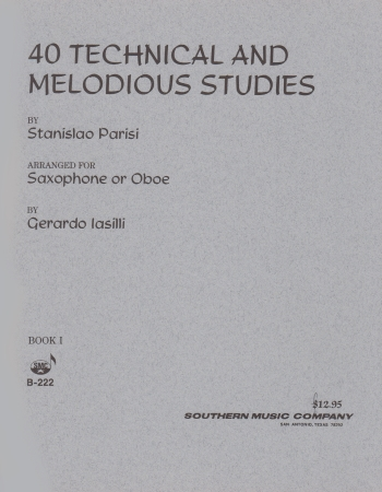 40 TECHNICAL & MELODIOUS STUDIES Book 1