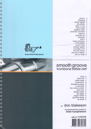 SMOOTH GROOVE + CD (treble clef)