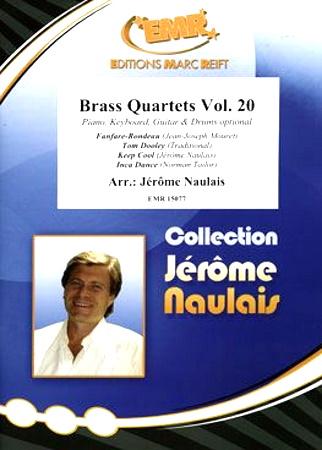 BRASS QUARTETS Volume 20 score & parts