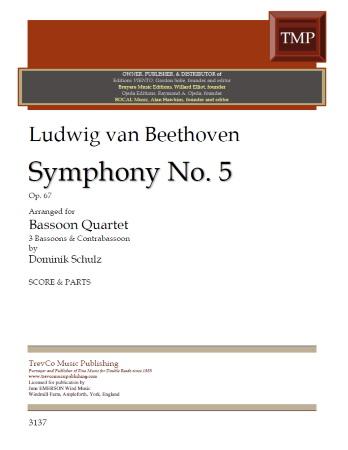 SYMPHONY No.5 Op.67 (score & parts)