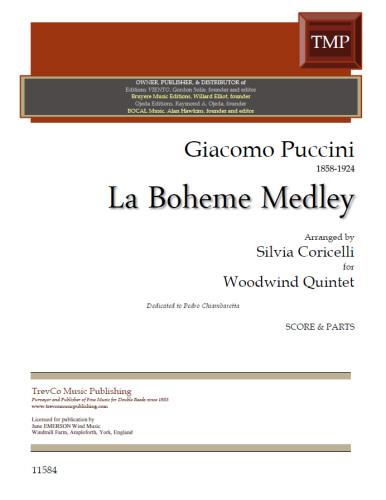 LA BOHEME MEDLEY (score & parts)