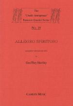 ALLEGRO SPIRITOSO (score & parts)