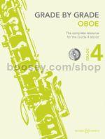 GRADE BY GRADE Oboe Grade 4 + CD