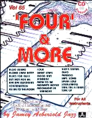 FOUR AND MORE Volume 65 + CD