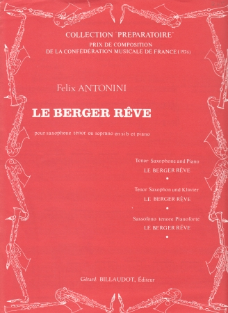 LE BERGER REVE
