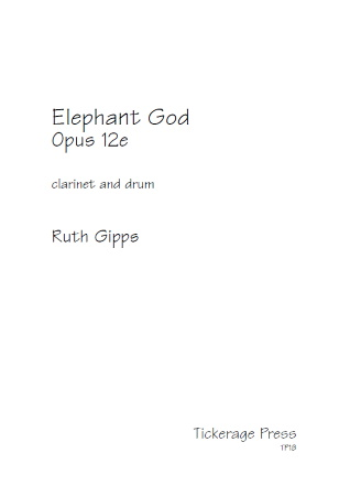 ELEPHANT GOD Op.12e
