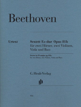 SEXTET IN Eb major Op.81b (set of parts)