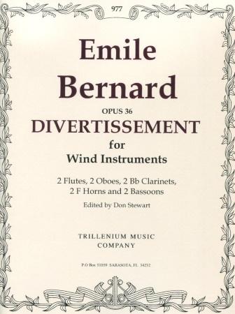DIVERTISSEMENT Op.36 score